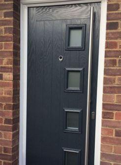 upvc black composite doors cardiff & upvc black composite doors cardiff | Capital UPVC | Cardiff South ... pezcame.com