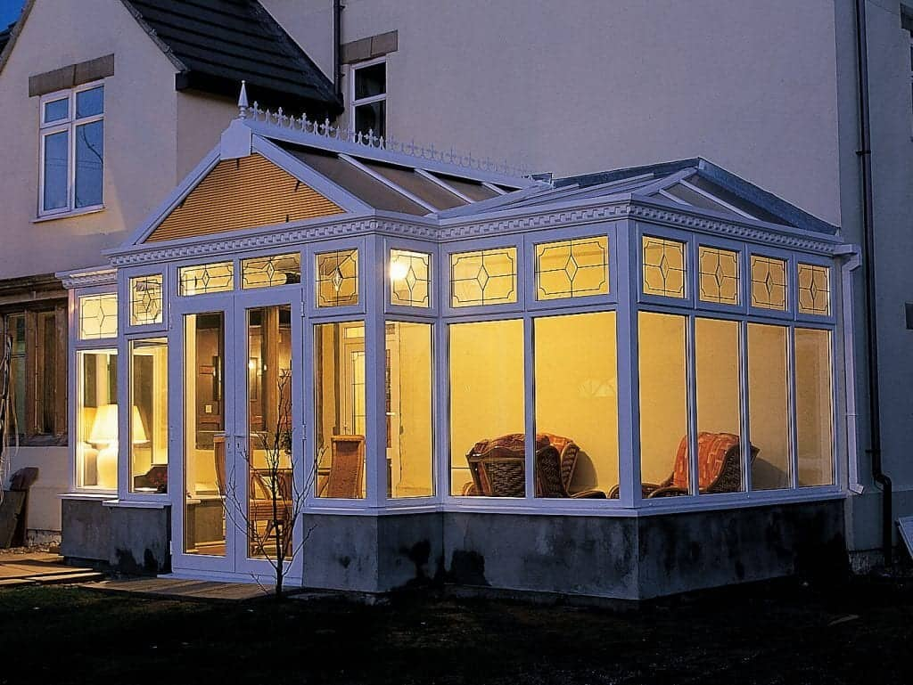 P-Shaped Conservatory Cardiff