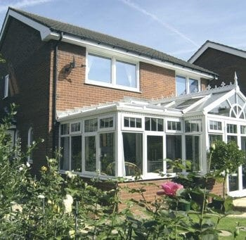 P Shaped Conservatory Wales