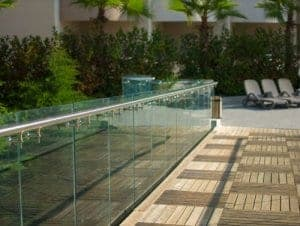 Garden Glass Balustrades Cardiff